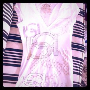Bebe logo tee - worn only once!